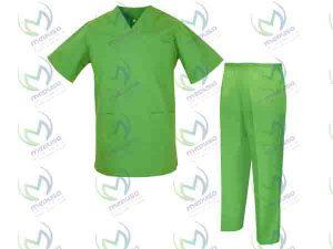لباس یکبار مصرف بیمارستانی ارزان قیمت اسپان باند