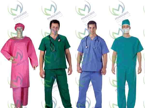 صادرات گان جراحی و لباس اتاق عمل عمده ای