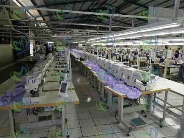 راه اندازی خط تولید لباس های یکبار مصرف بیمارستانی