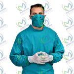 انواع گان بیمار و جراح اتاق عمل