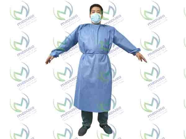 سایز بندی گان جراحی غیر استریل