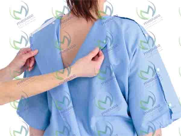 گان جراح استریل و مصرف آن در کلینیک