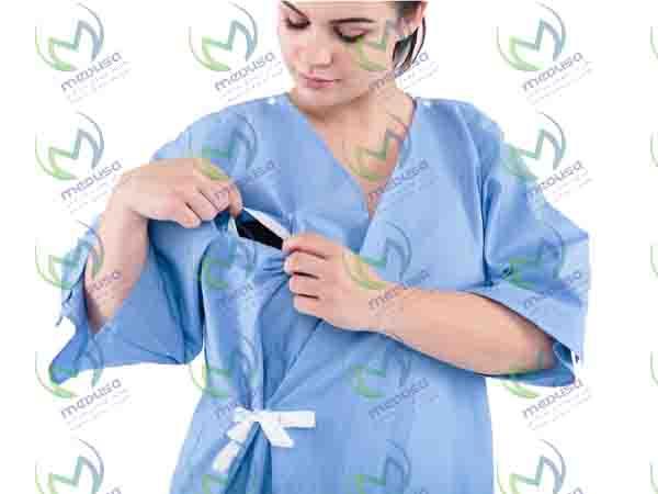گان جراحی 50 گرم غیر استریل